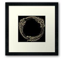 Elder Scrolls Online Logo Framed Print