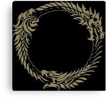 Elder Scrolls Online Logo Canvas Print