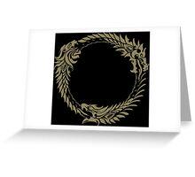Elder Scrolls Online Logo Greeting Card