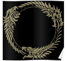 Elder Scrolls Online Logo Poster