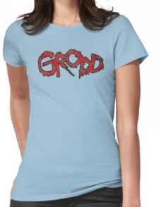 Grodd - DC Spray Paint Womens Fitted T-Shirt