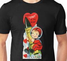 Vintage Valentine Rocket Penis Unisex T-Shirt