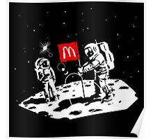 First we take Manhattan, Then we take Moon Poster