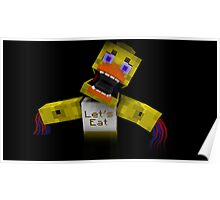 Five Nights At Freddy's - Minecraft Chica 2 Poster
