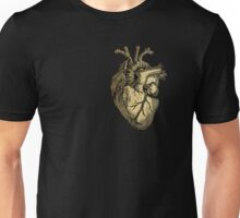 Glittering anatomical heart  Unisex T-Shirt