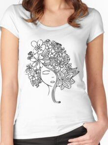 Flower Child Women's Fitted Scoop T-Shirt
