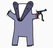 I Like You Like A Badger Likes Cap Guns One Piece - Long Sleeve