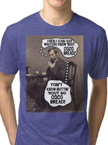 Coco Bread: Presidential Deal Sealer Tri-blend T-Shirt