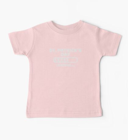 St. Patrick's day loading Baby Tee