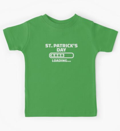 St. Patrick's day loading Kids Tee