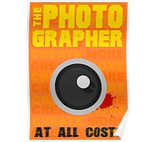 The photographer Poster