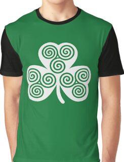 Celtic shamrock Graphic T-Shirt