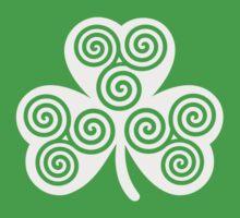 Celtic shamrock Baby Tee