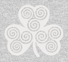 Celtic shamrock One Piece - Long Sleeve