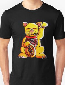 Golden Lucky Cat T-Shirt