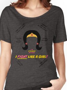 I Fight Like A Girl Women's Relaxed Fit T-Shirt