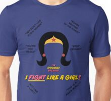 I Fight Like A Girl Unisex T-Shirt