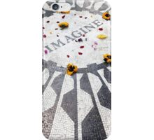 Imagine - John Lennon - New York iPhone Case/Skin