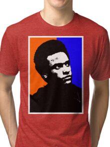 HUEY P. NEWTON Tri-blend T-Shirt