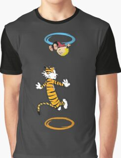 calvin teleport Graphic T-Shirt