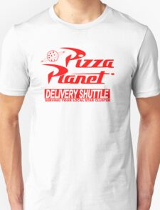 Pizza Planet Delivery Shirt Unisex T-Shirt
