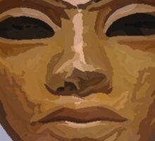 'Heretic King' - Watercolor Akhenaton Bust Sticker