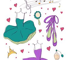 I love ballet by Lidiebug