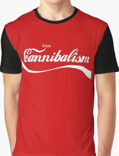 Enjoy Cannibalism Graphic T-Shirt