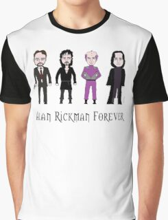 Alan Rickman Forever Graphic T-Shirt