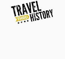 Travel Thru History Black Logo Unisex T-Shirt
