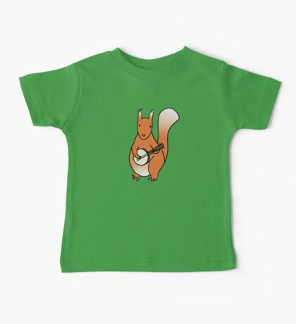 Squirrels Play The Banjo For Your Love Baby Tee