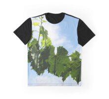 Grape Leaves Graphic T-Shirt