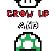 Super Mario Grow Up And Get A Life by hinomaru17