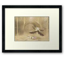 Sand Ambush (40 Left!) Framed Print