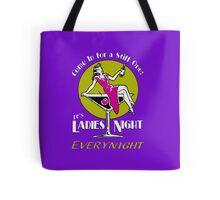 Ladies night retro Fifties party Tote Bag