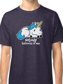 Sad unicorn Classic T-Shirt