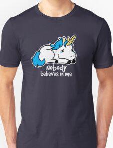 Sad unicorn Unisex T-Shirt