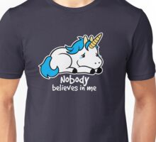 Sad unicorn Unisex T-Shirt