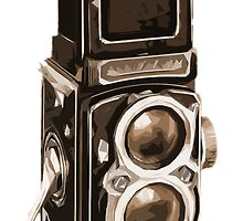 Old Rolli Camera by Edward Fielding