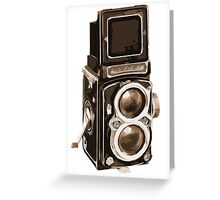 Old Rolli Camera Greeting Card