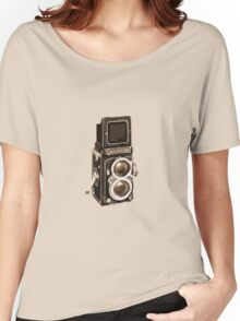 Old Rolli Camera Women's Relaxed Fit T-Shirt