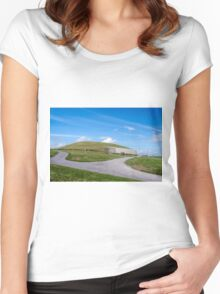 Newgrange , Co Meath. Women's Fitted Scoop T-Shirt