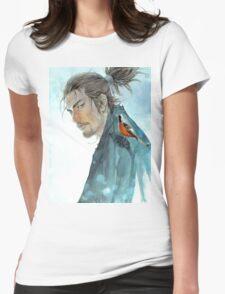 """Miyamoto Musashi Vagabond"" Womens Fitted T-Shirt"