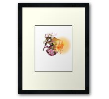 Vivi Girl Framed Print