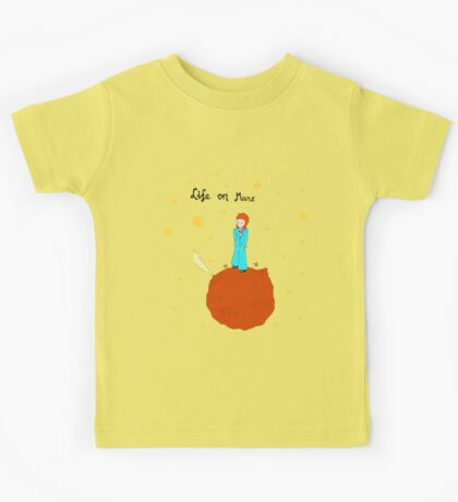 BOWIE LIFE ON MARS Kids Tee