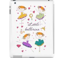 Little ballerina and accessories iPad Case/Skin
