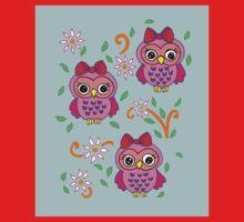 cute little owls One Piece - Long Sleeve