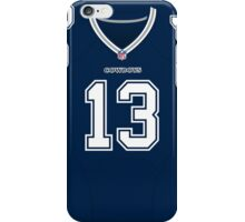 Dallas Cowboys Lucky Whitehead Color Jersey iPhone Case/Skin