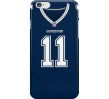 Dallas Cowboys Cole Beasley Color Jersey iPhone Case/Skin