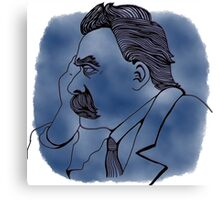 Nietzsche for Stephen Canvas Print